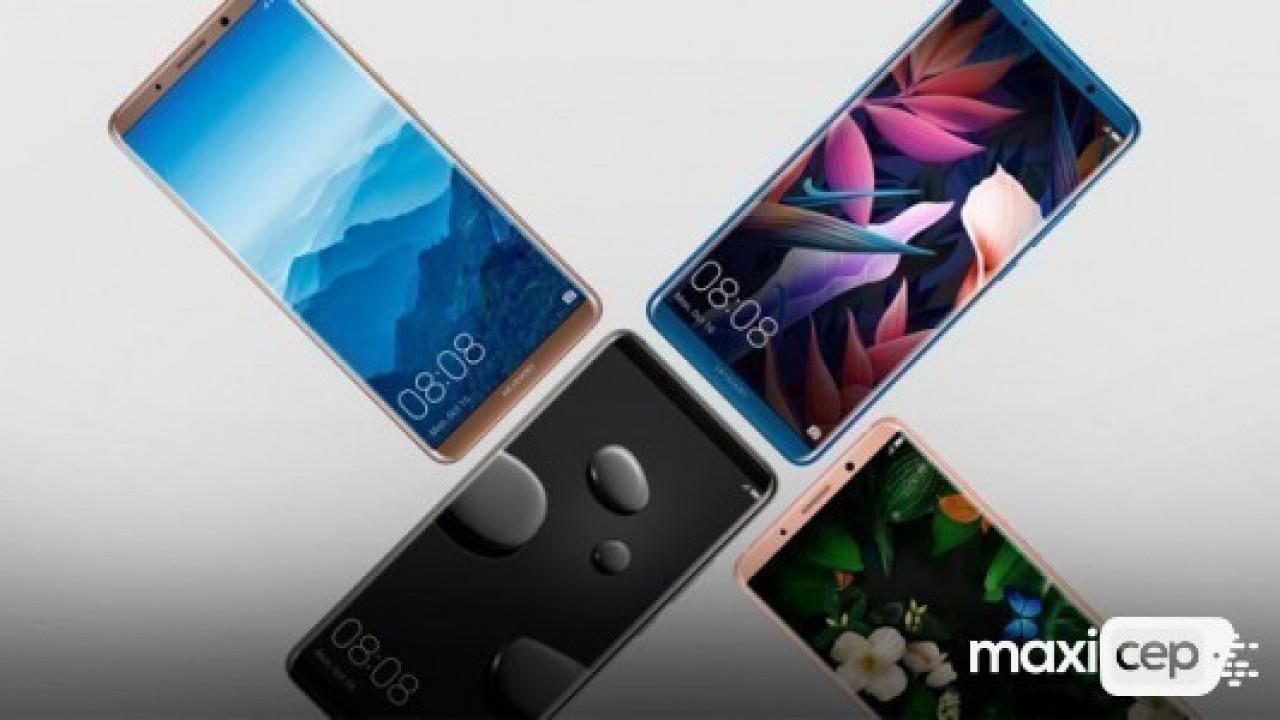 Huawei Mate 20'de ekran içi parmak izi, kablosuz şarj ve Android P yer alacak