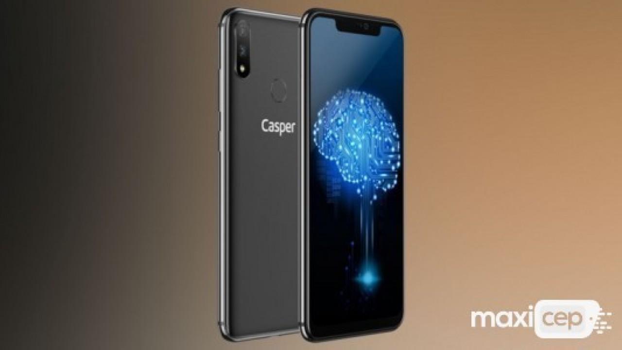 Casper'dan çentikli akıllı telefonu: VIA A3 Plus