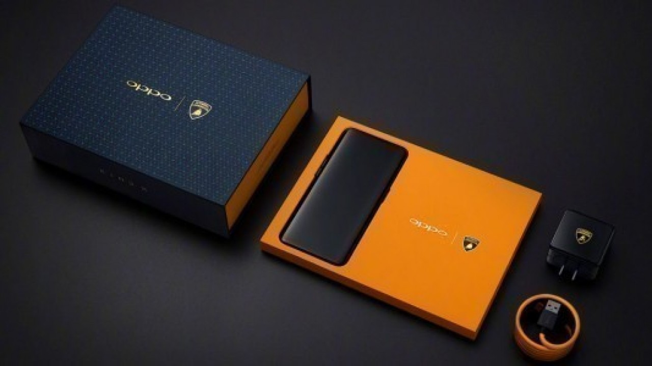 Oppo Find X Lamborghini Edition'un stokları 4 saniye de tükendi
