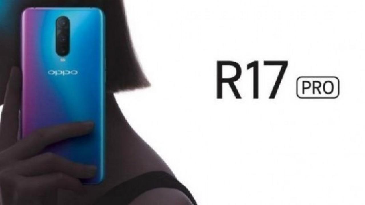 Oppo R17 Pro3 kameralı olacak, resmi videosunda görüldü