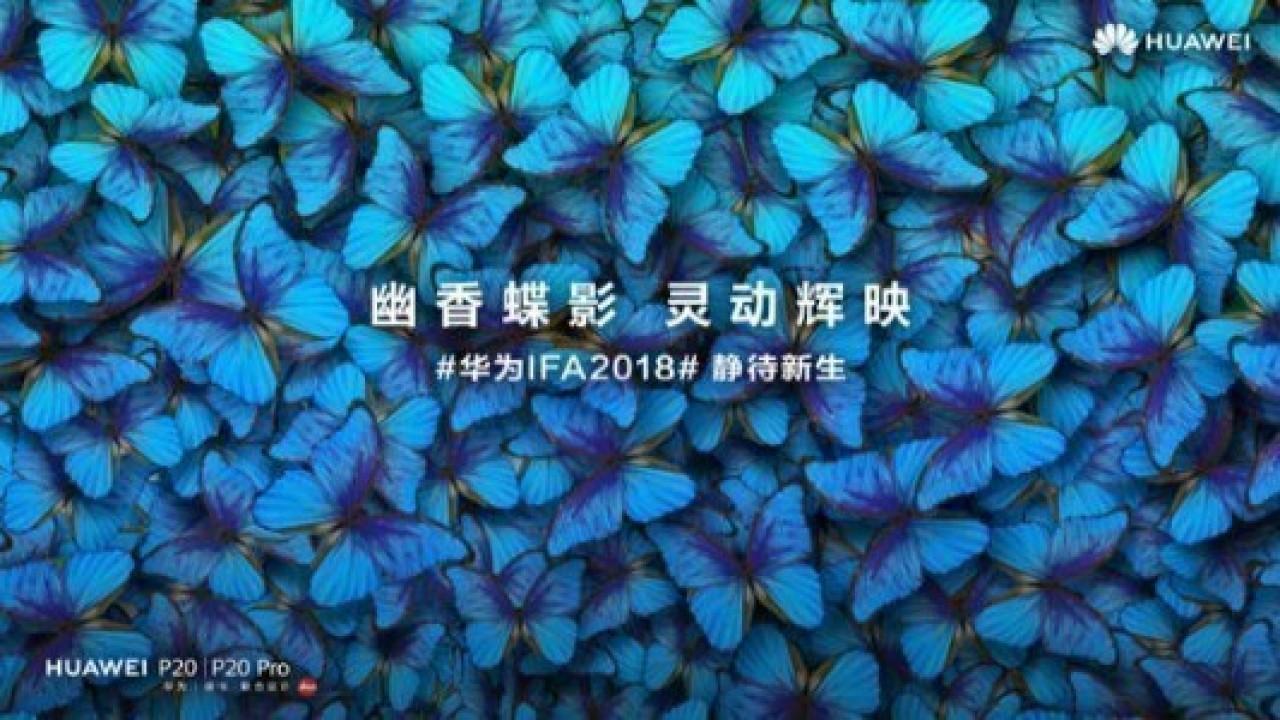 Huawei, P20 ve P20 Pro'nun İki Yeni Renk Seçeneğini Duyurdu