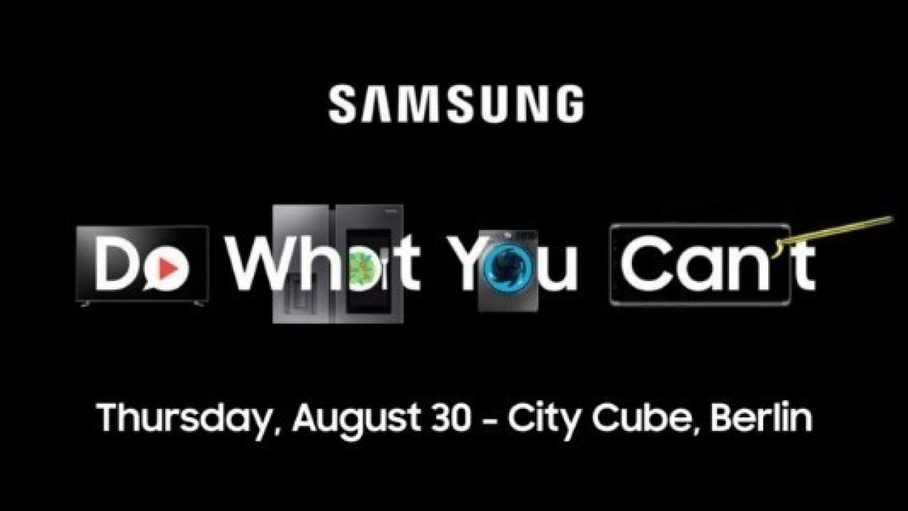 Samsung, 30 Ağustos'ta IFA Basın Toplantısı Düzenleyeceğini Duyurdu