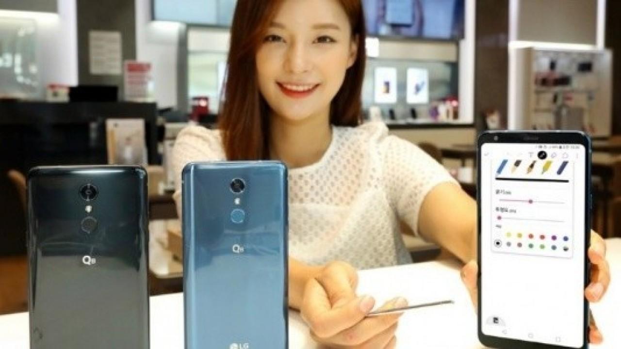 LG Q8 (2018), 6.2 inç Ekran ve Stylus Kalemle Resmi Olarak Duyuruldu
