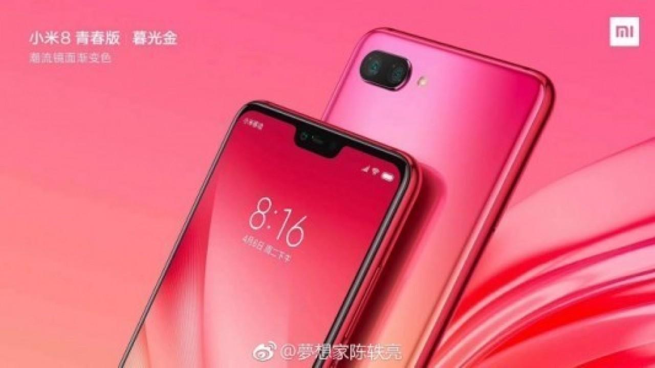 Xiaomi, Alacakaranlık Altın Renkli Mi 8X Görsellerini Paylaştı