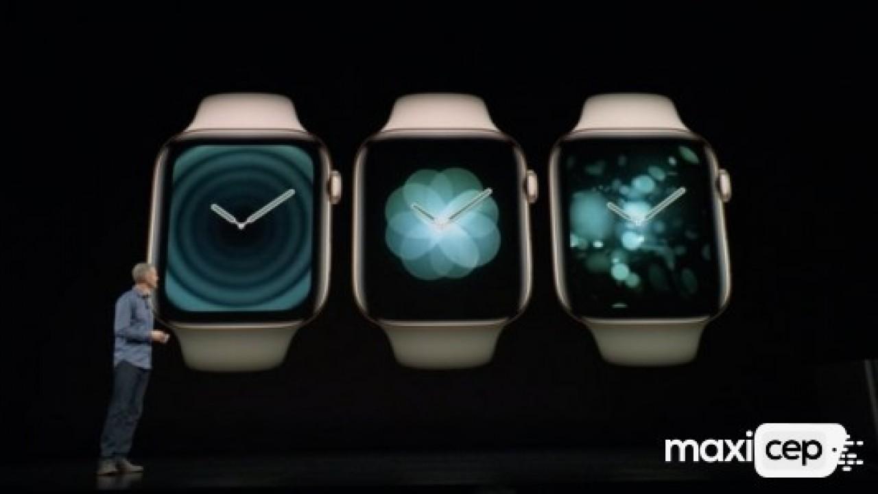 Apple en yeni akıllı saat modeli Watch Series 4 tanıtıldı