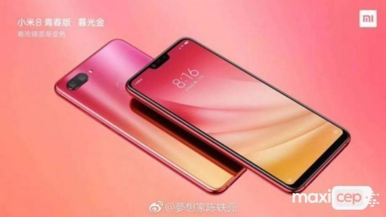 Xiaomi Mi 8 Youth 3 farklı renge sahip olacak