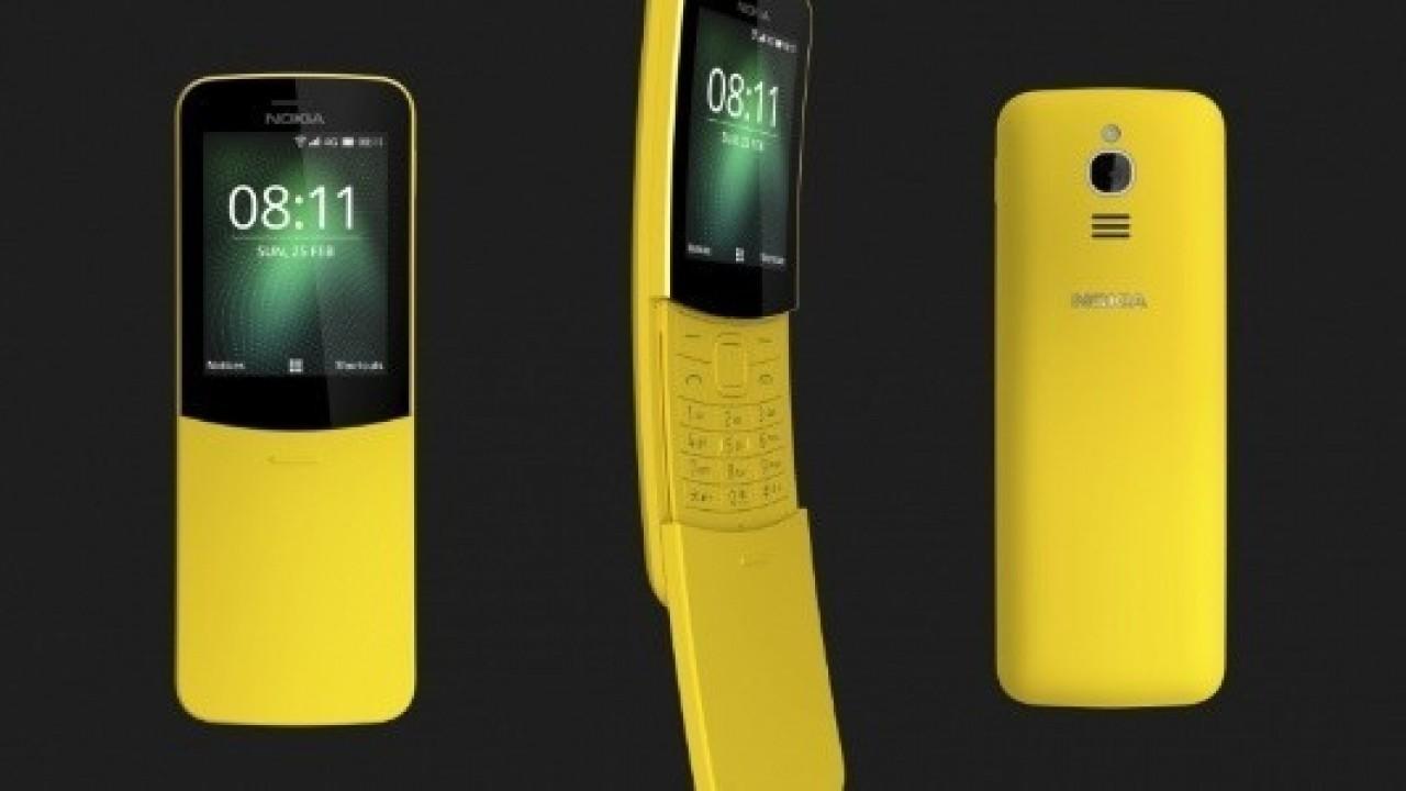 Yenilenen Efsane, Nokia 8810 4G Türkiye'de Satışa Sunuldu