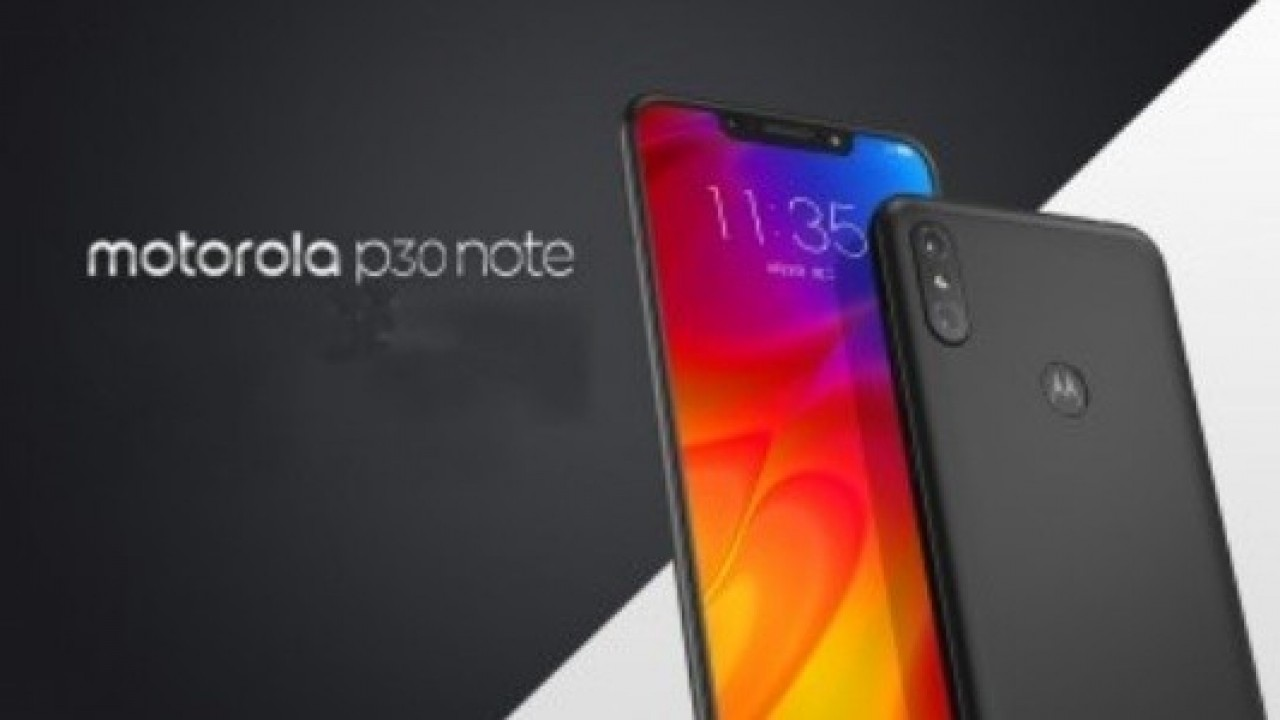 Motorola P30 Note, ZUI 4.0 İle Çin'de Duyuruldu