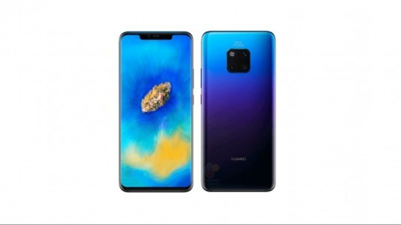 Huawei Mate 20 Pro'da, sesle kilit açılabilecek