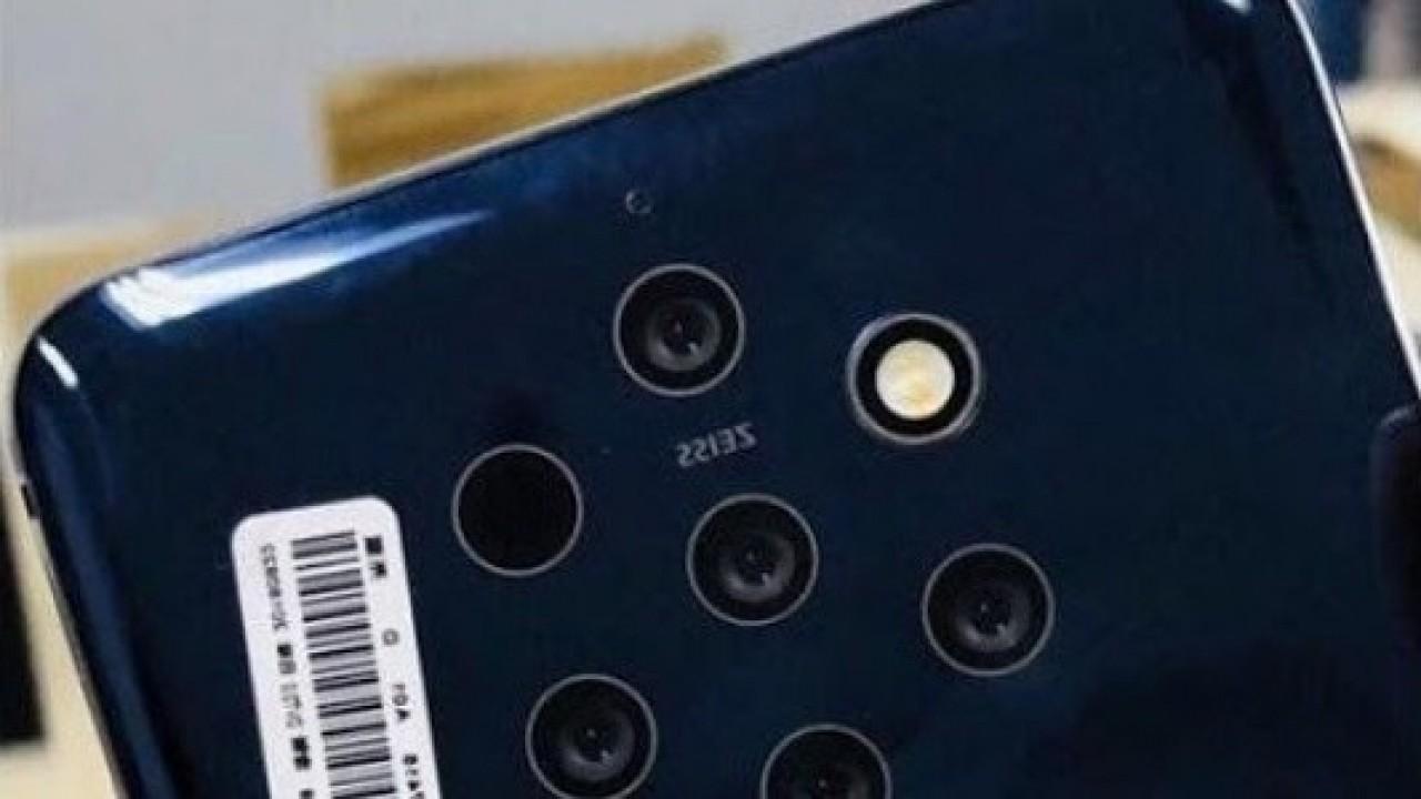 Nokia 9'un (TA-1094) Beş Lensli Kamera ile Görüntüsü Sızdırıldı