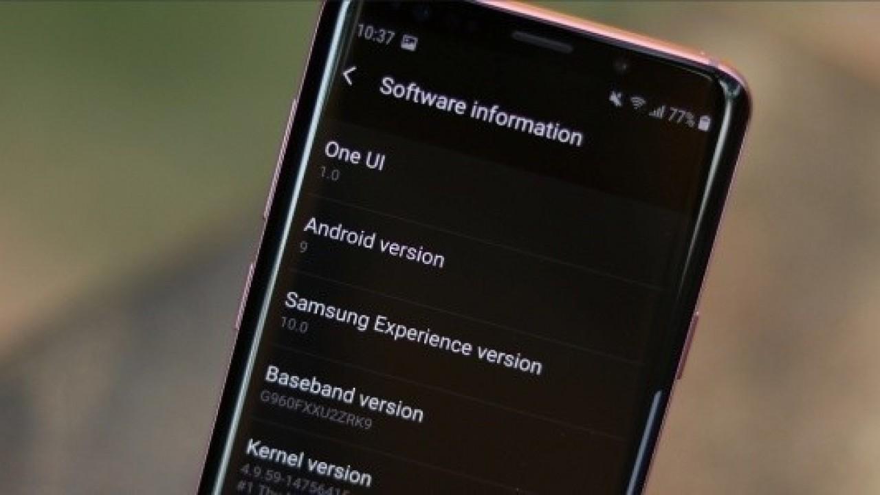 Galaxy Note9 Yeni Bir Android Pie beta Güncellemesi Aldı