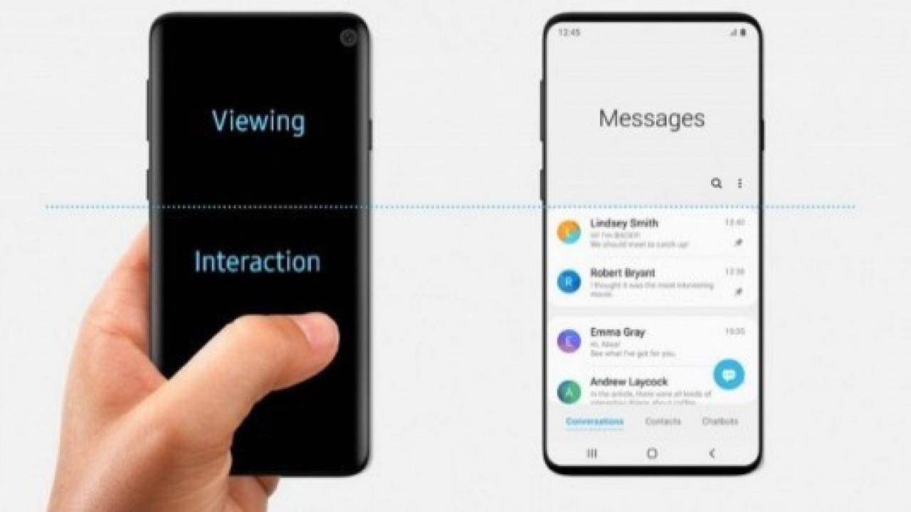 Samsung'un One UI Belgeleri, Yanlışlıkla Galaxy S10 Tasarımını Ortaya Çıkardı