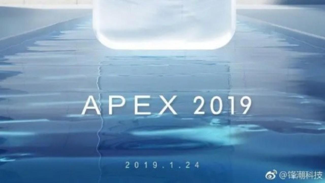 Vivo Apex 2019, 24 Ocak'ta Geliyor