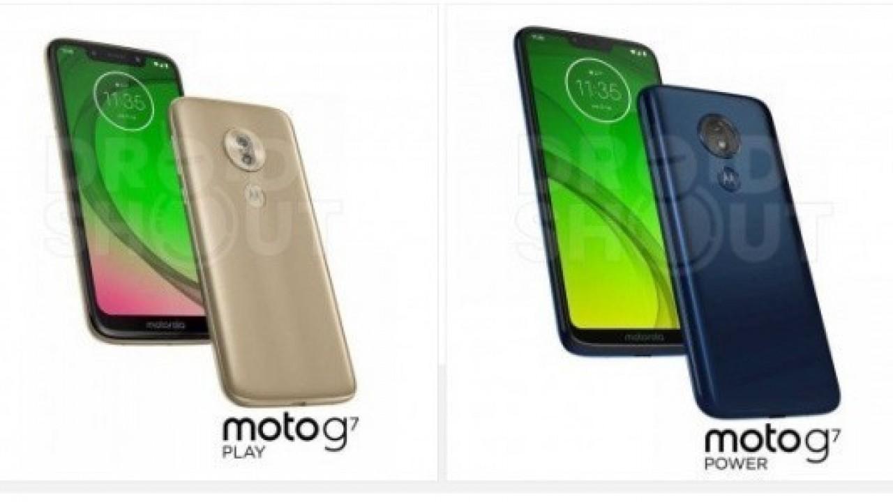 Moto G7 Serisinin Basın Görselleri Ortaya Çıktı