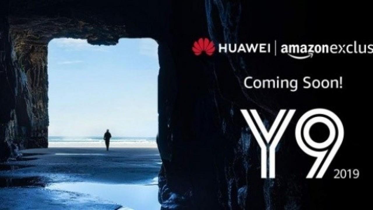 Huawei Y9 2019, Amazon Hindistan'da Ortaya Çıktı