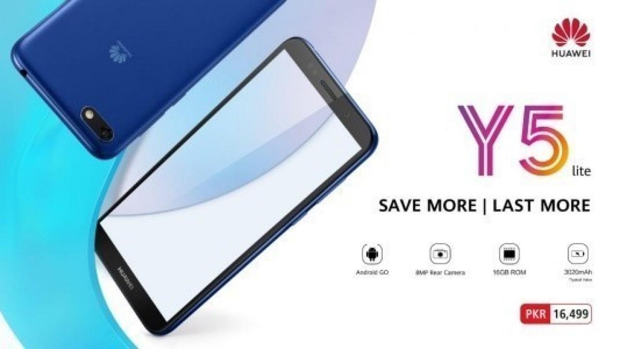 Huawei, İkinci Android Go Telefonu Huawei Y5 Lite'ı Duyurdu