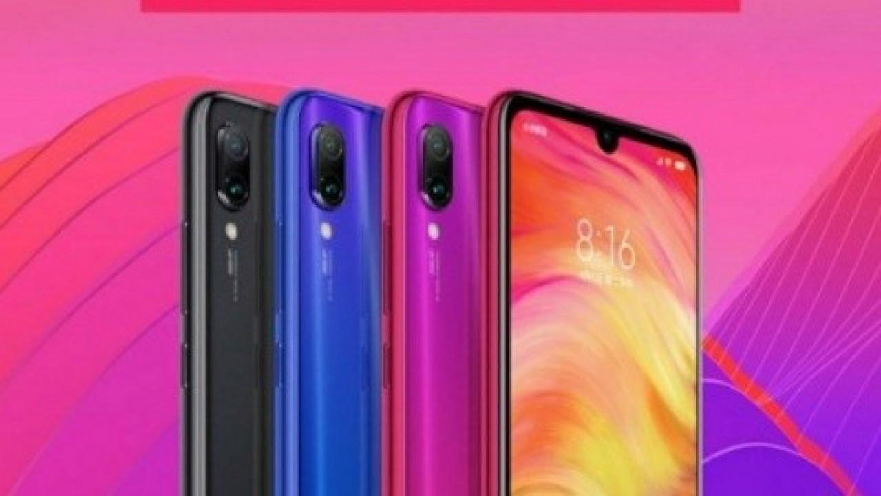 Xiaomi Redmi 7'nin Renk Seçeneklerini Doğrulayan Tanıtım Posteri Sızdırıldı