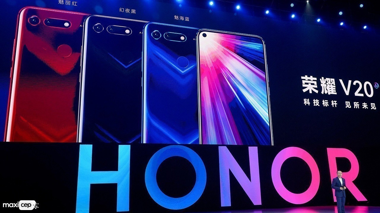Honor V30 Çift Ön Kamerasıyla Ortaya Çıktı