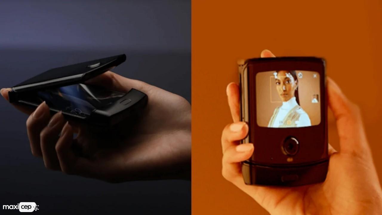 Motorola Razer Katlanabilir Tasarımıyla Göz Kamaştırıyor