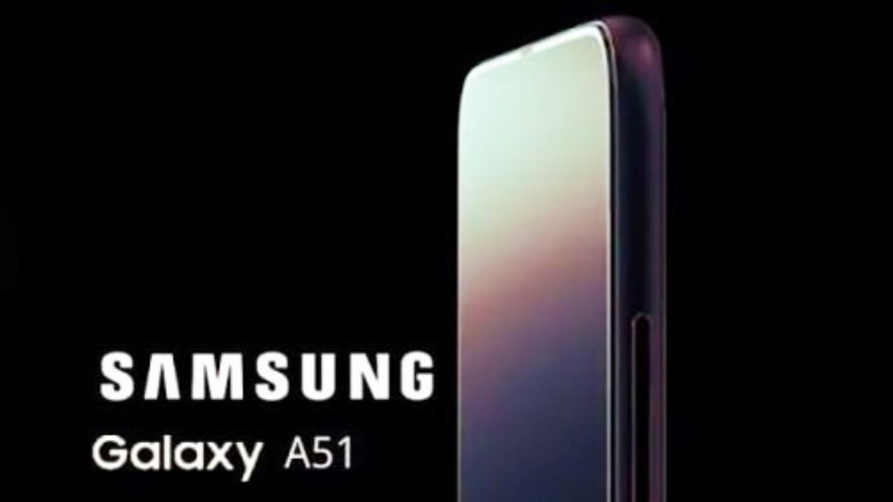 Samsung Galaxy A51, L Şeklinde Dörtlü Kameraya Sahip Olacak