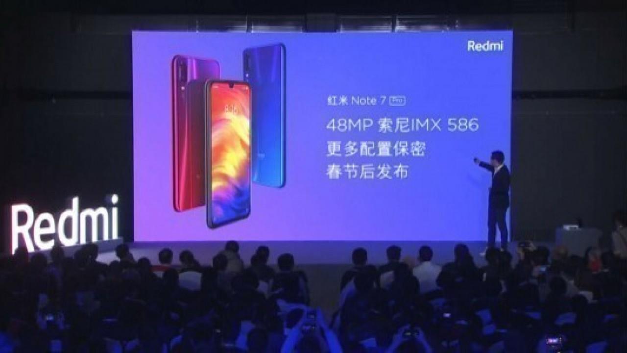 Redmi Note 7 Pro, Mi 9'un Ardından Mart Ayında Piyasaya Çıkacak