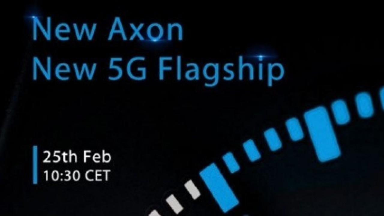 ZTE'nin MWC 2019 Davetiyesi, Amiral Gemisi 5G Axon Telefon Duyurusunu Doğruladı