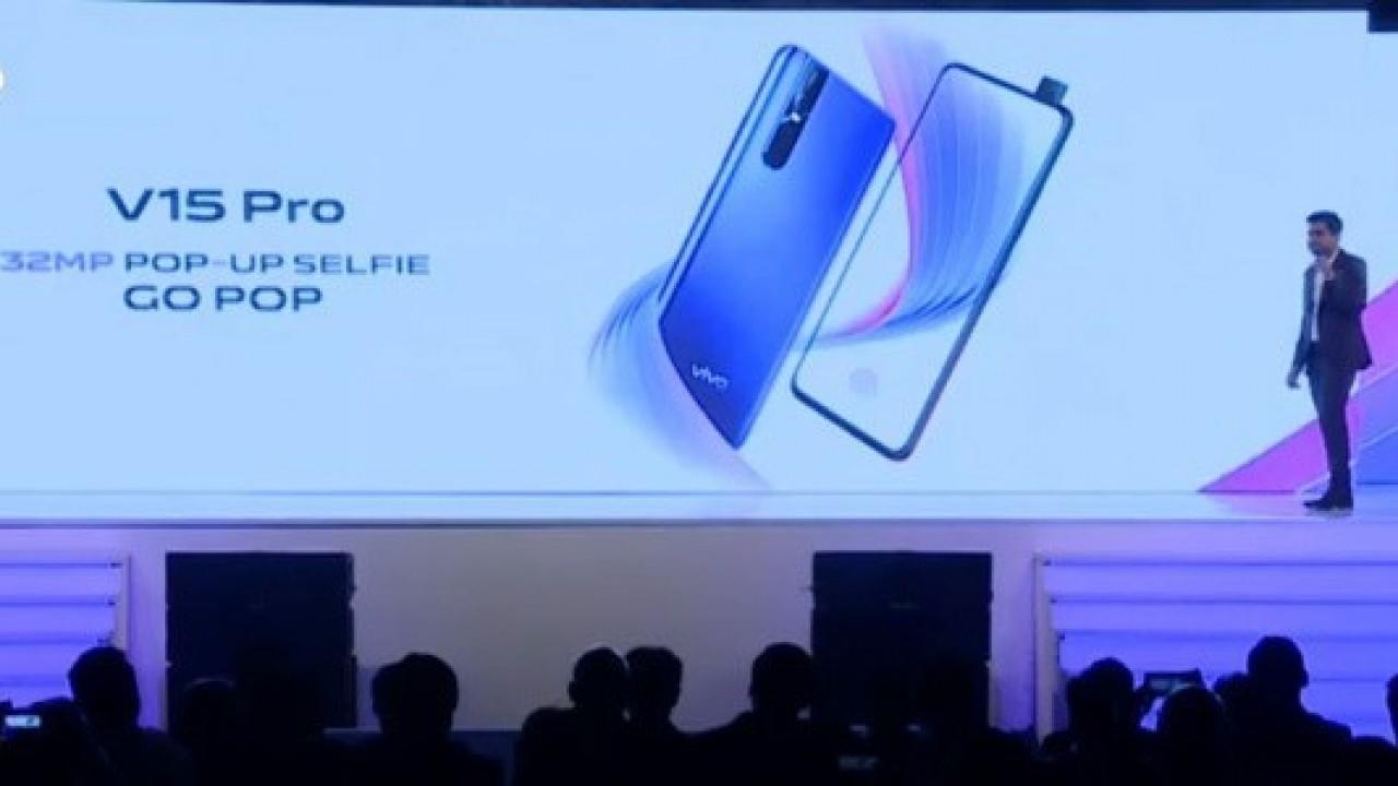 Vivo V15 Pro, 32MP Pop-up Selfie Kamerası ile Duyuruldu