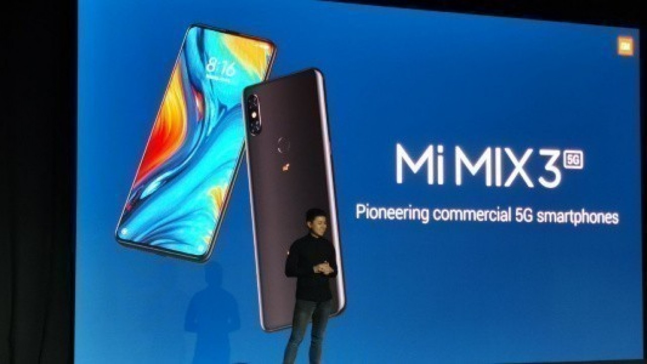 Xiaomi Mi Mix 3 5G, Mayıs Ayından İtibaren Piyasaya Sunulacak