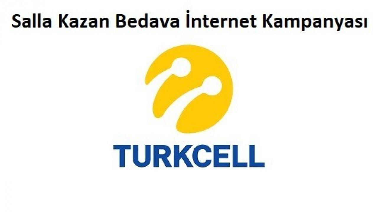 Turkcell Salla Kazan Hediye İnternet Paketi