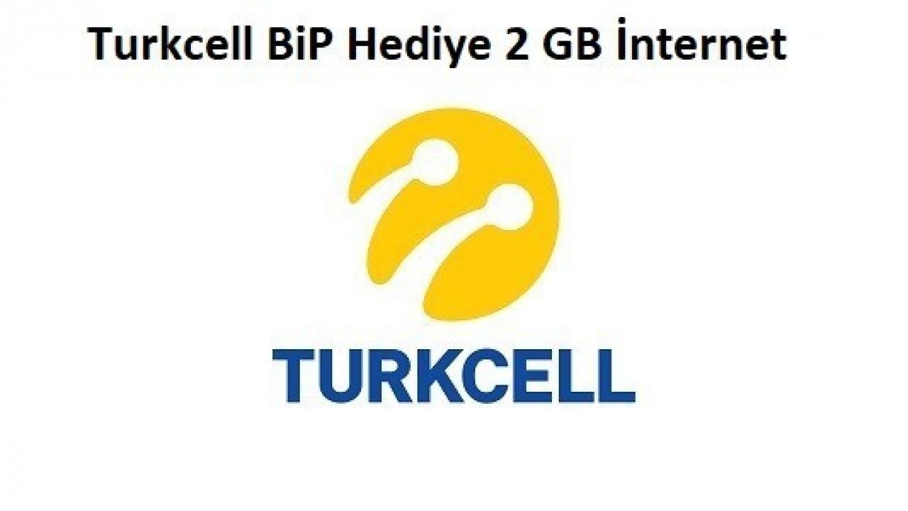 Turkcell BiP 2 GB Ücretsiz İnternet Kampanyası
