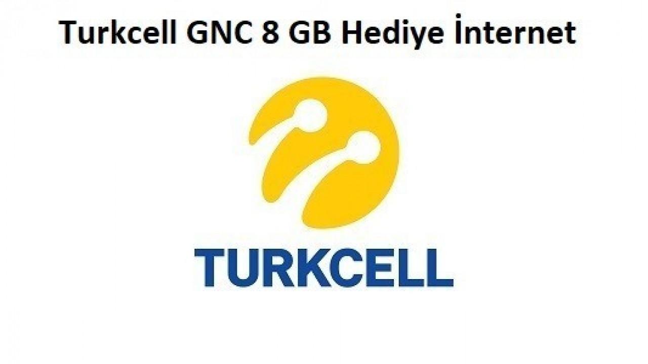 Turkcell GNÇ Çatlat 8GB Bedava İnternet Fırsatı