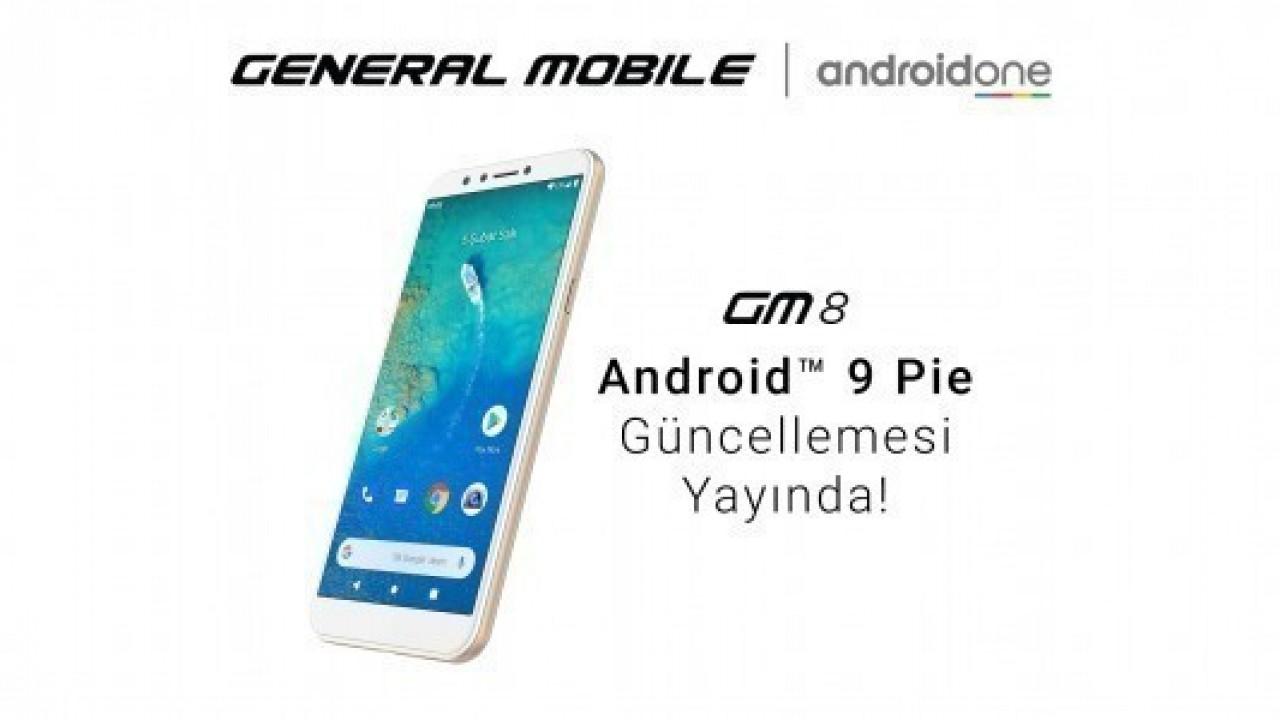 GM 8 İçin Android 9.0 Pie Güncellemesi Yayınlandı