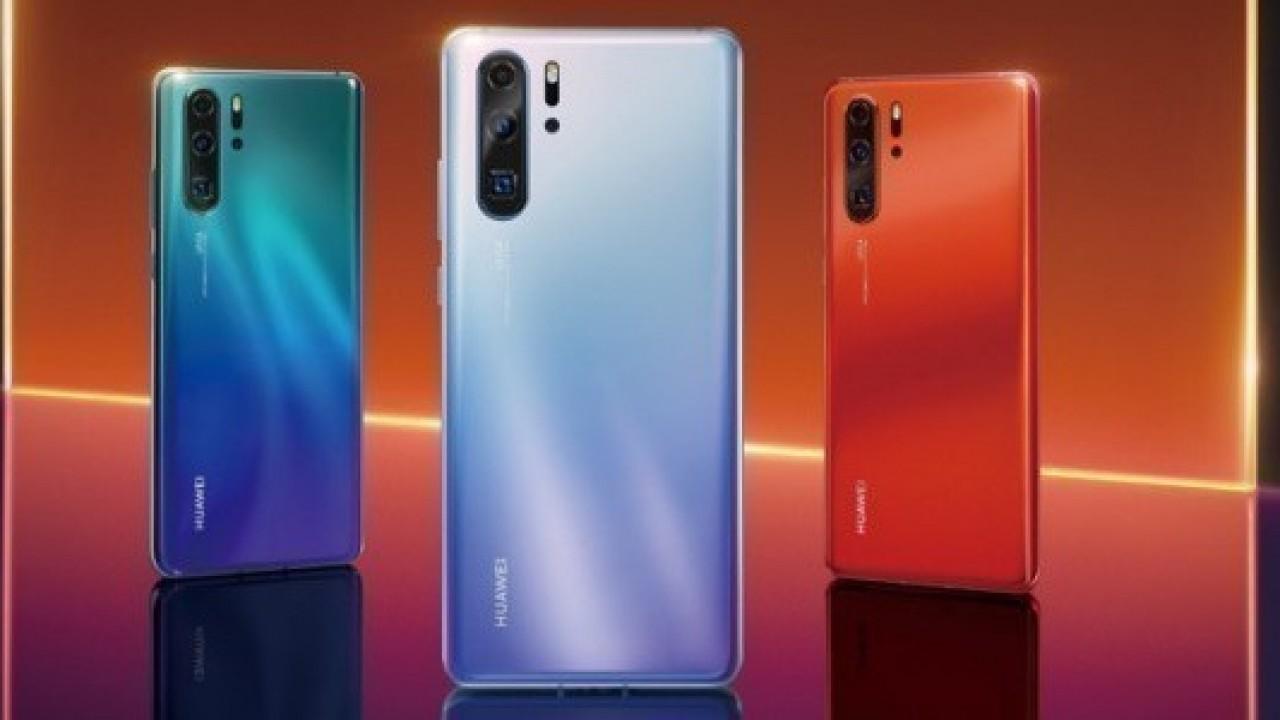 Huawei P30 ve P30 Pro Resmi Görselleri Yayınlandı