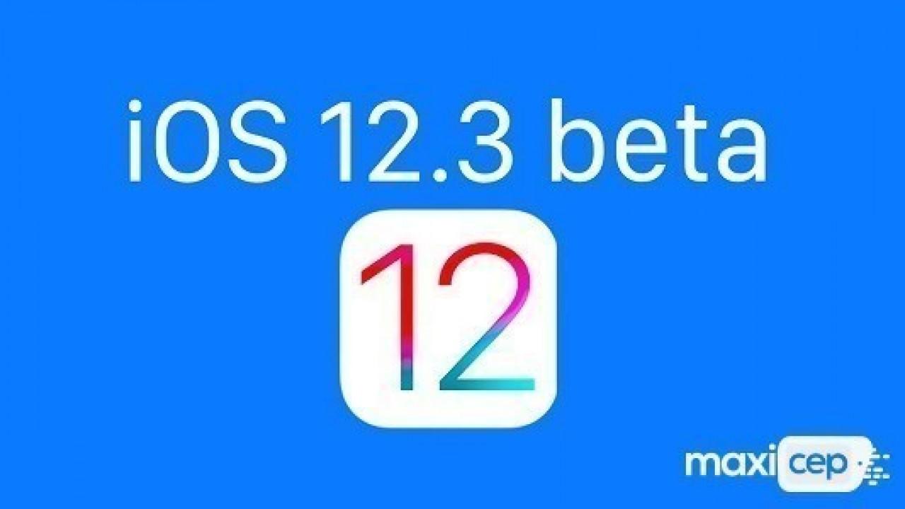 Apple, İlk iOS 12.3 Geliştirici Beta Güncellemesini Yayınladı