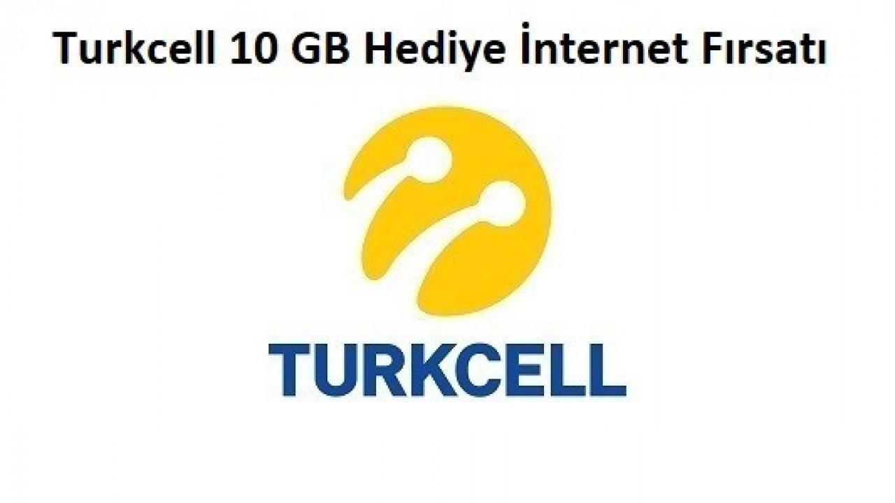 Turkcell 10 GB Hediye İnternet Kampanyası