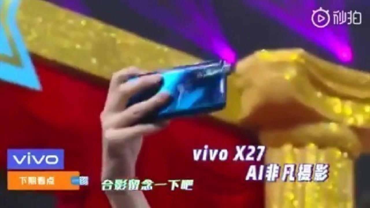 Vivo X27, TV Show'unda Ortaya Çıktı
