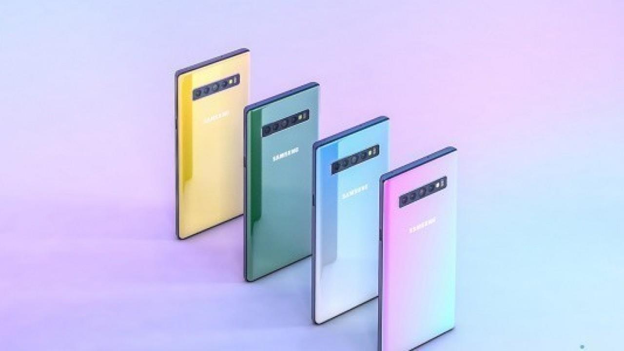 Galaxy Note 10'un Konsept Görselleri Paylaşıldı
