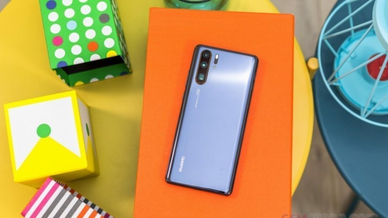 Huawei P30 Pro, Yeni Bir Yazılım Güncellemesi Aldı