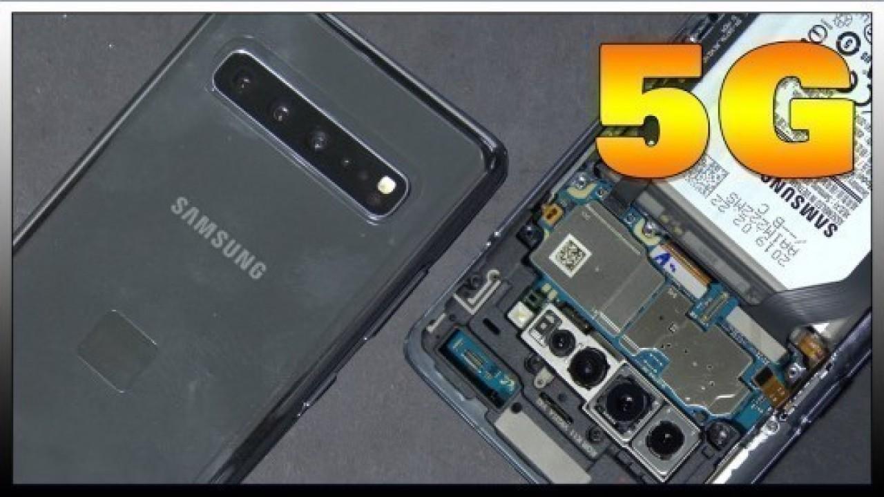 Samsung Galaxy S10 5G Parçalarına Ayrıldı