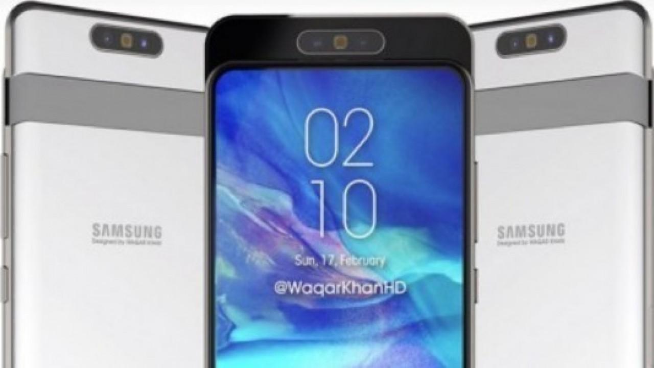 Samsung'un 10 Nisan Etkinliğinin Yıldızı Galaxy A80 Olacak