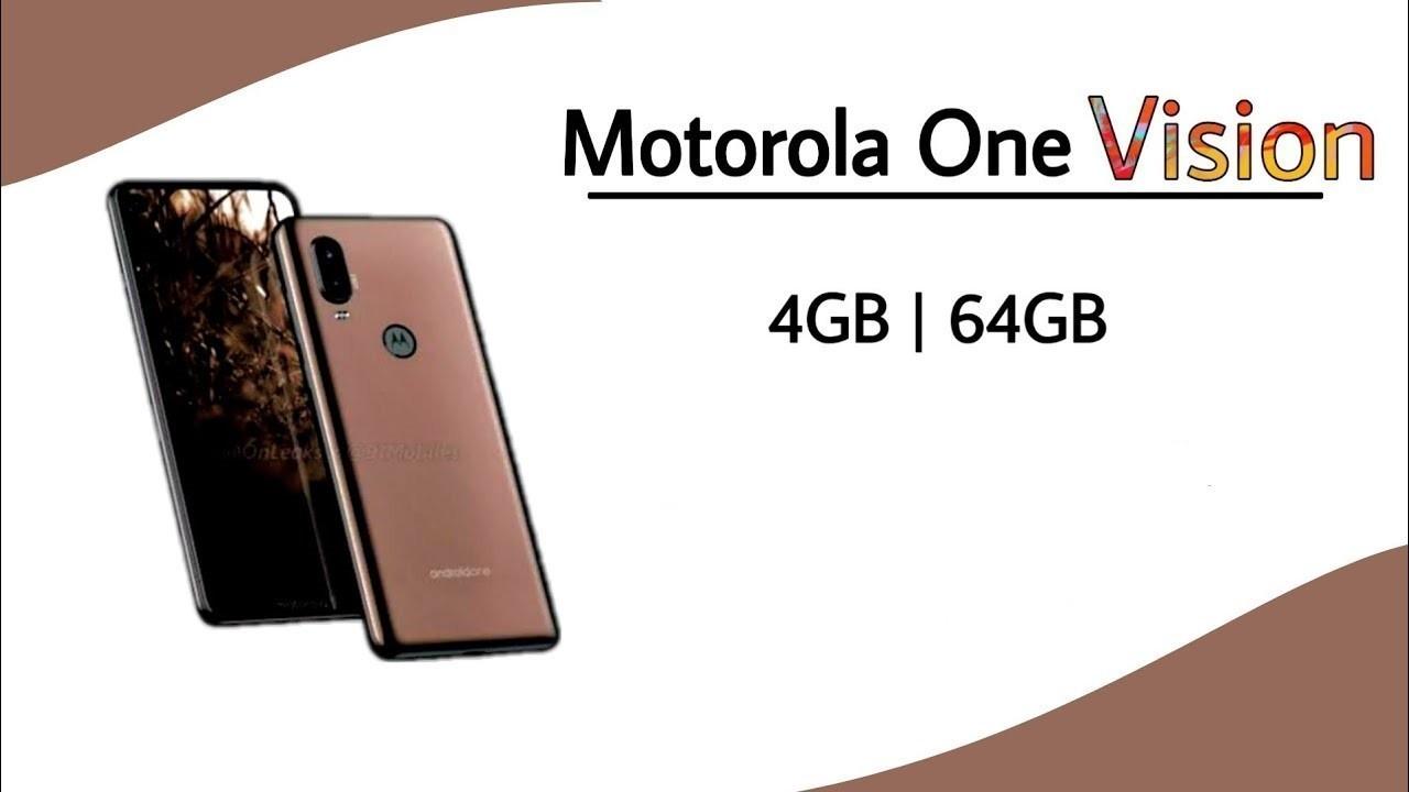 Android One Kapsamındaki Motorola One Vision 15 Mayıs'ta Geliyor