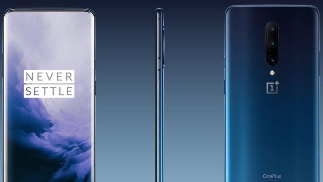 Oneplus 7 Pro'nun Nebula Mavisi ve Ayna Gri Renkleri, Basın Görsellerinde Ortaya Çıktı