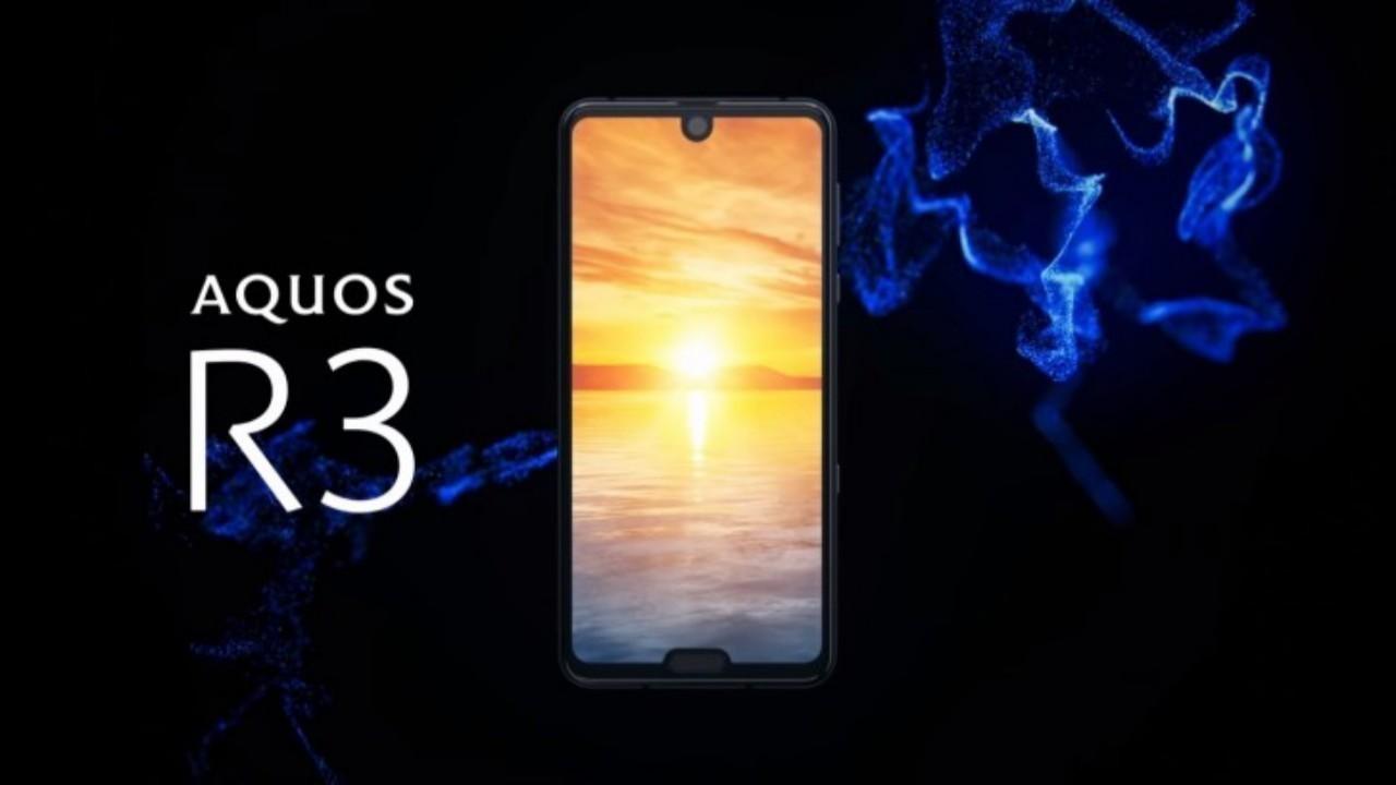 Sharp Aquos R3, Snapdragon 855 ve 120Hz Çift Çentikli Ekranla Duyuruldu