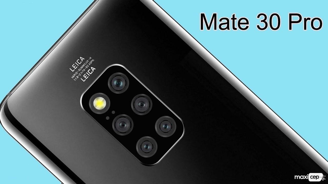 Huawei Mate 30 Pro Tasarımıyla Dikkatleri Üzerine Çekiyor