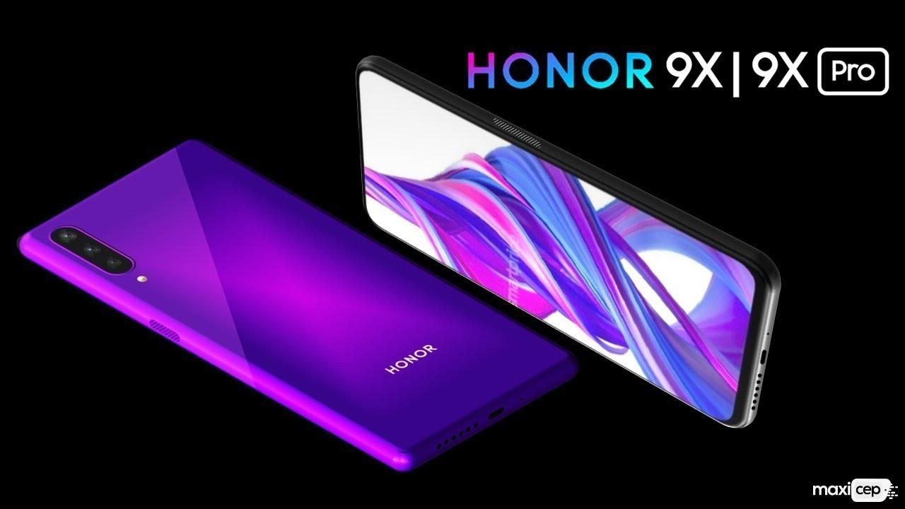 Kirin 810 İşlemcili Honor 9X ve 9X Pro Tanıtıldı