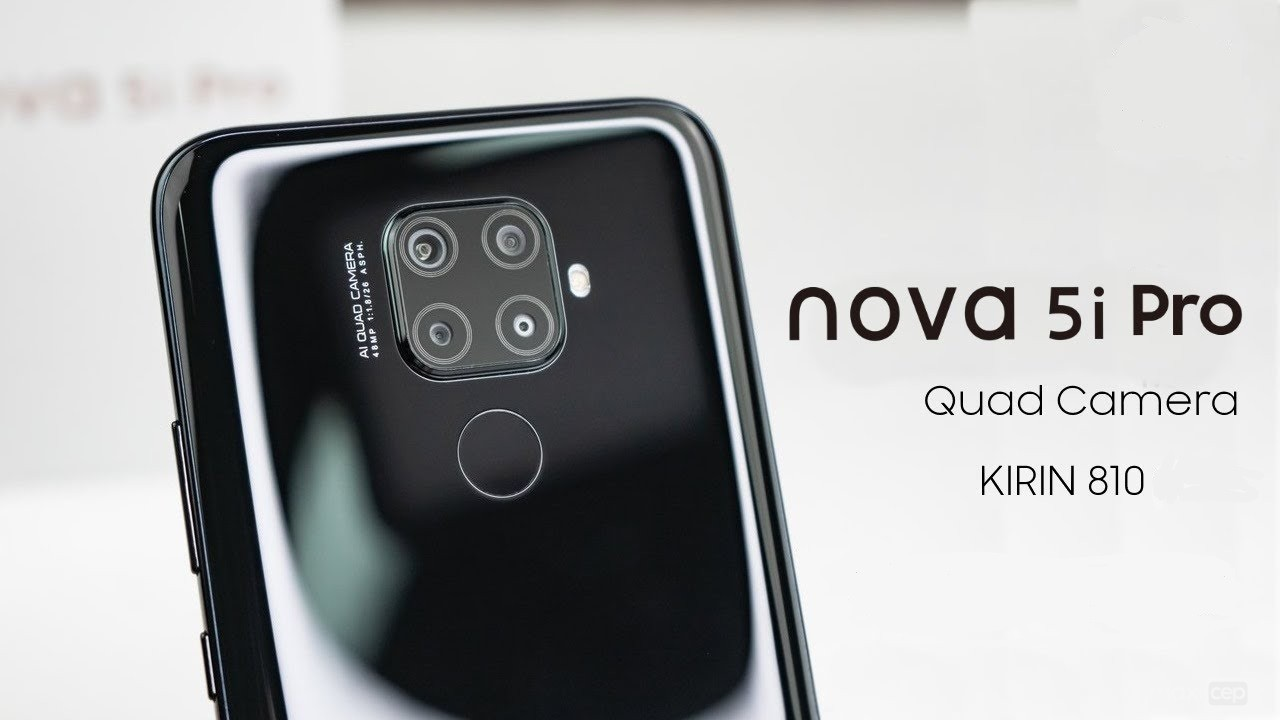 Huawei Nova 5i Pro Resmi Olarak Duyuruldu