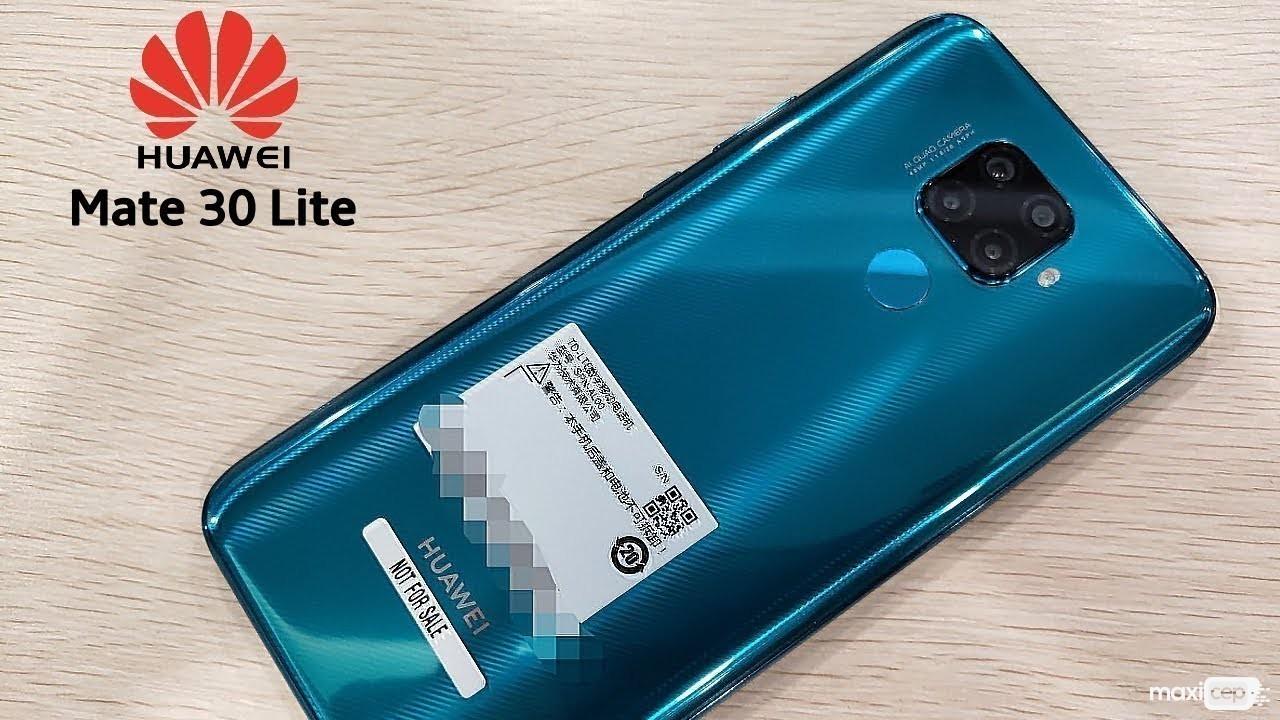 Huawei Mate 30 Lite HarmonOS İle Gelen İlk Telefon Olabilir