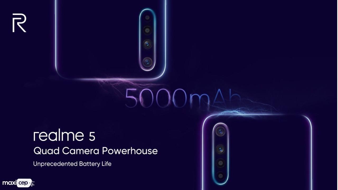 Realme 5 ve Realme 5 Pro Dört Arka Kamerayla Beraber Tanıtıldı