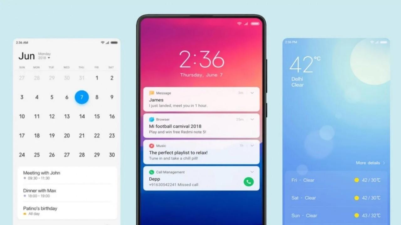 Xiaomi'nin Yeni MIUI 11 Arayüzünün Tasarımı Sızdırıldı