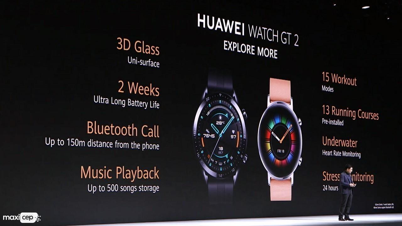 Huawei Watch GT 2 Akıllı Saati ve Huawei Vision Akıllı Televizyonu Tanıtıldı